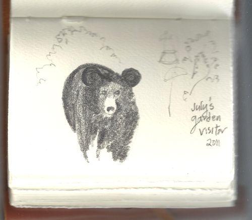 Garden bear2