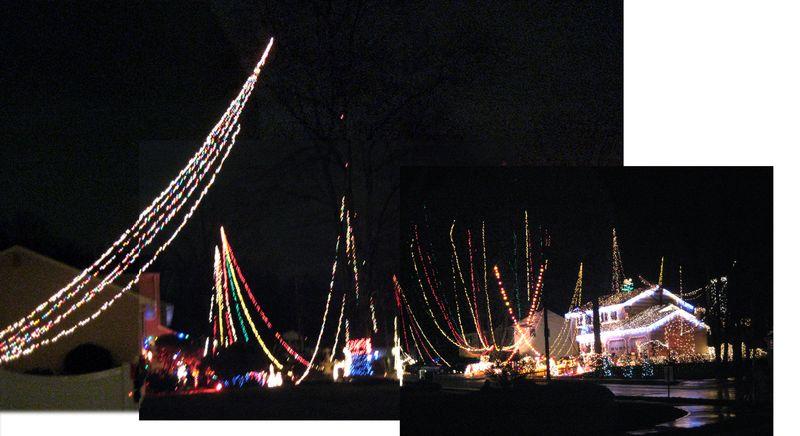 Debbie Lane Christmas lights