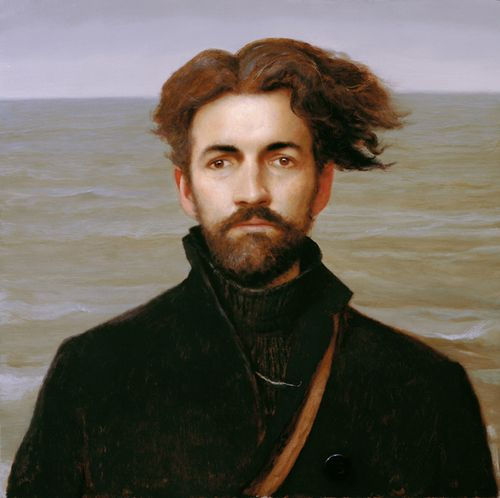 Selfportrait-as-ishmael-bo-bartlett   httpwww.bobartlett.compaintings2000-ishmael.html