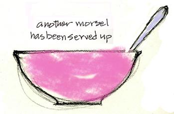 Pink bowl 72